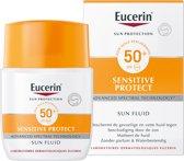Eucerin Sun Sensitive Protect Fluid normale tot gemengde huid SPF 50+ Zonnebrand - 50 ml
