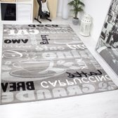 Vloerkleed Milano Grijs 9122 240x340 cm 2300 gr per m²