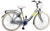 Bike Fun Blizz - Kinderfiets - Meisjes - Matgroen - 43 cm