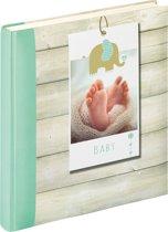 Walther Welcome - Babyalbum - 28x30,5 cm - 50 pagina's - Groen