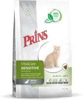 Prins Vital Care Kat Sensitive Hypolallergic - Kattenvoer - 10 kg