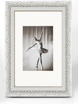 Walther Design Barock - Fotolijst - Fotoformaat 15 x 20 cm  - Wit