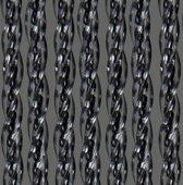 Vliegengordijn-Deurgordijn- Orchidea Luxe-90x220cm Transparant- Zwart