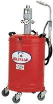 Gülersan Model 4130, olievat met pneumatische pomp, 30 liter