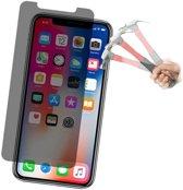 Privacy Beschermglas / Anti Spy Tempered glass Screenprotector voor Apple iPhone X