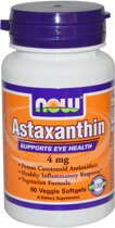 Astaxanthine, 4 mg, 60 vegetarische softgels