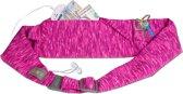 BANDI Running Belt Strata Fuchsia/Violet Classic