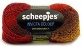 Scheepjs Invicta Colour 970. PAK MET 4 BOLLEN a 100 GRAM. KL.NUM. S1991.