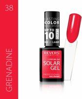 REVERS® 3in1 Solar Gel Nagellak 12ml. - #38 Grenadine