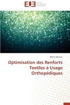 Optimisation Des Renforts Textiles � Usage Orthop�diques
