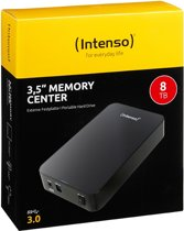 Intenso Memory Center - Externe harde schijf - 8 TB