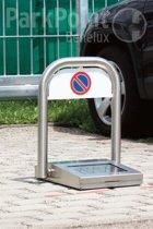 Parksun volautomatische parkeerbeugel RVS met 2 handzenders