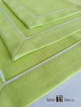 Servet groen, 36x36, vuil afstotend, set van 6 stuks