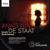 London Sinfonietta/Zavalloni/Synerg - Ana'S Nin/De Staat