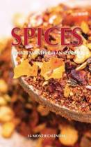 Spices Pocket Monthly Planner 2017