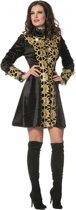 Feesten & Gelegenheden Kostuum | Gotische Jas Luxe Gold Vrouw | Maat 46 | Halloween | Verkleedkleding
