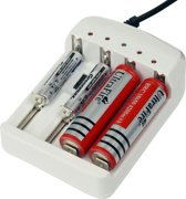 Batterijoplader – batterij oplader - universeel lader – AA / AAA / 18650 / C / D / 1.2-4.2 V