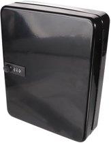 Perel sleutelkast voor 46 sleutels - zwart - met cijferslot - 30x24x8cm