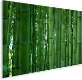 Het Bamboebos van Arashiyama van dichtbij Plexiglas 120x80 cm - Foto print op Glas (Plexiglas wanddecoratie)