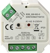 Zigbee inbouwschakelaar ROBB SMARRT draadloos bedienbaar via smartphone en Philips HUE