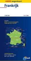 ANWB Wegenkaart / Frankrijk