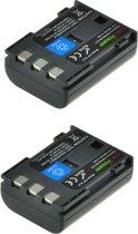 ChiliPower Canon NB-2LH camera batterij - 2 stuks verpakking