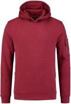 Tricorp Premium Sweater Capuchon - bordeaux - 304001 - maat M