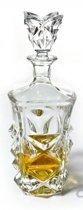 Pyramid whisky karaf