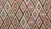 Kleurrijke tapijtloper BOHO 65 x 100 cm