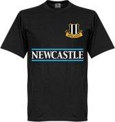 Newcastle United Team T-Shirt - Zwart - XXXL