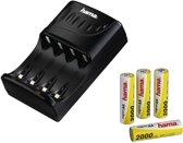 Hama batterijlader voor AA / AAA batterijen