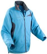 Spiro Micro-lite team jacket, Kleur Aqua/ Grey, Maat S