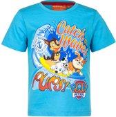 Paw Patrol t-shirt - blauw - maat 98