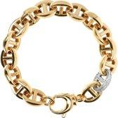 Polished Hollow Marine Link bracelet WSBZ01530YY