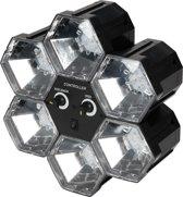6 LED Lampen - Zwart