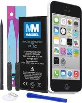 MMOBIEL Batterij / accu geschikt voor iPhone 5C Batterij Li-Ion 3.8V 1507mAh 5.73Wh met 2x schroevendraaiers en inclusief een stap voor stap handleiding.