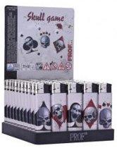"""Aanstekers Prof 50stuks 'Skull Game Design' """"GRATIS VERZENDING"""""""