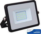 Samsung by V-tac VT-20-B LED schijnwerper - 20 W - 1600 Lumen - 4000K - zwart