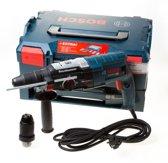 GBH 2-28 F Combihamer SDS-plus + snelspanboorkop in L-Boxx + iBoxx met 68-delige accessoire set