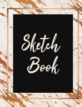 Sketch Book: Large Journal Sketchbook With Blank Pages For Drawing And Sketching: Novelty Artist Edition (Novelty White and Cooper
