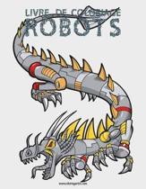 Livre de Coloriage Robots 1