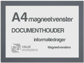 Magneetvensters A4 - Grijs