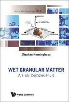 Wet Granular Matter