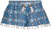 Snapper Rock UV werende Zwembroek Kinderen Moroccan - Blauw - Maat 116-122