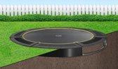 Flat To The Ground trampoline Capital Play 427 Black inground