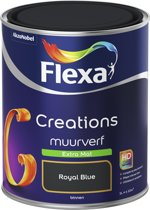 Flexa Creations - Muurverf Extra Mat - Royal Blue - 1 liter