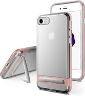 iPhone 7/8 bumper - Goospery Dream Stand Bumper Case - Rosé Goud