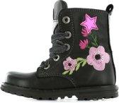 Shoesme Dessert Meisjes biker boot - Zwart  - Maat 25