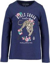 Blue Seven Meisjes Shirt Blauw - Maat 98