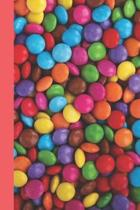 Candy Coated Journal: 130 Lined Pages, 6'' x 9'' (15.24 cm x 22.86 cm)